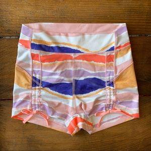 LULULEMON | High Waisted Adjustable Yoga Shorts